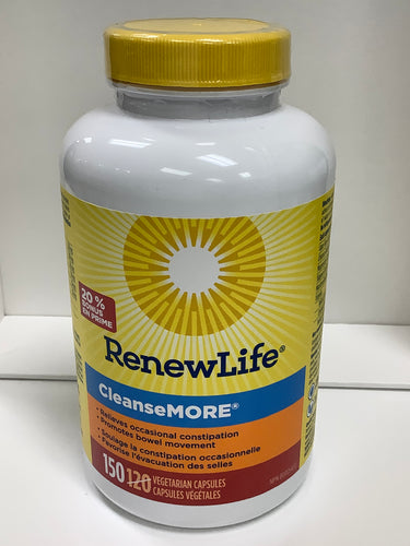 RenewLife Cleanse More