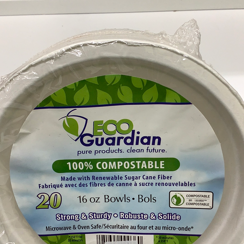 Eco Guardian Compostable Bowls