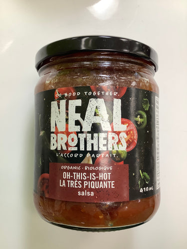 Neal Brothers Oh This is Hot Organic Salsa