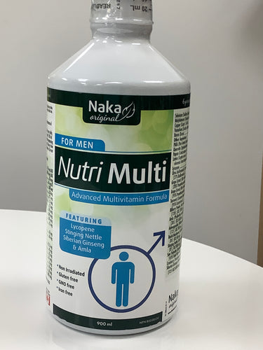 Naka Nutri-Multi Liquid for Men
