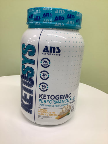ANS Ketosys Keto Performance Fuel Lemon Meringue