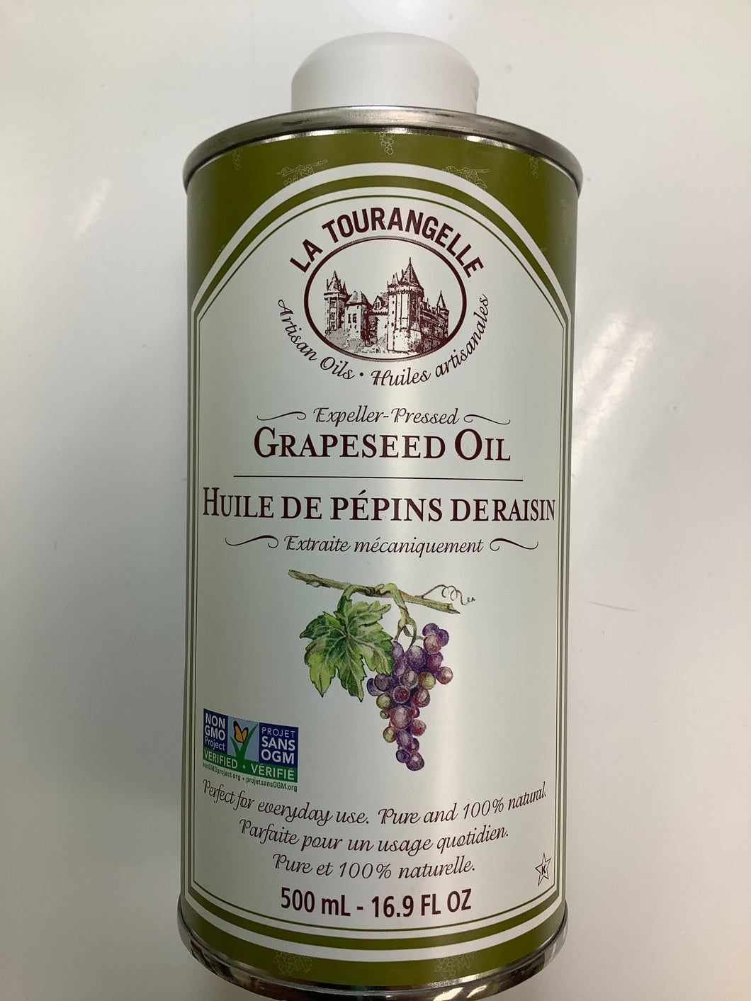La Tourangelle Expeller-Pressed Grapeseed Oil