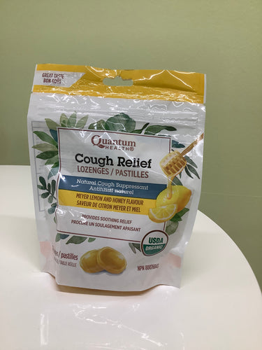 Quantum Health Cough Relief Lozenges