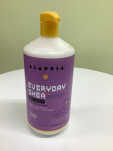 Alaffia Everyday Shea Lavender Body Lotion