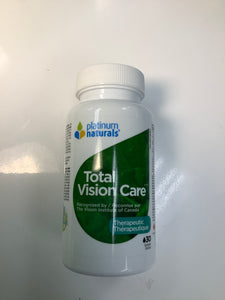 Platinum Naturals Total Vision Care 30's