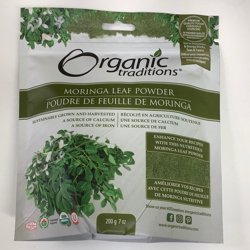 Organic Traditions Moringa Leaf Powder