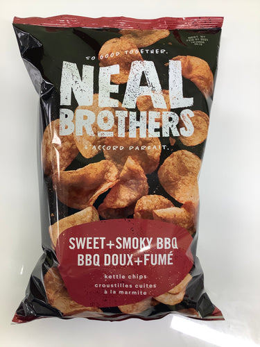 Neal Brothers Sweet and Smoky BBQ Kettle Chips