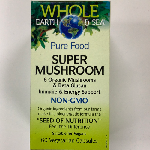 Whole Earth and Sea Super Mushroom
