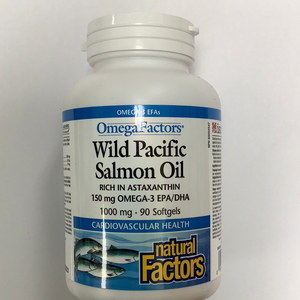 Natural Factors Wild Pacific Salmon Oil