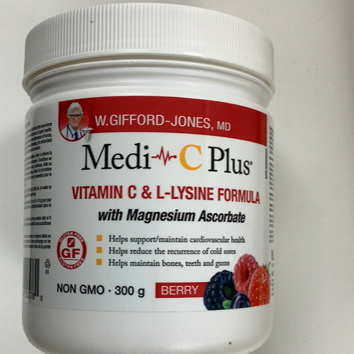 Assured Natural Medi C Plus Magnesium 300mg Berry