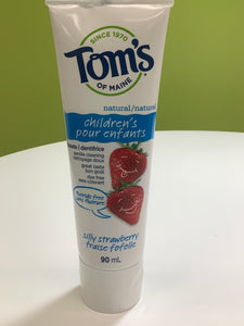 Tom's Natural Children's Strawberry Toothpaste