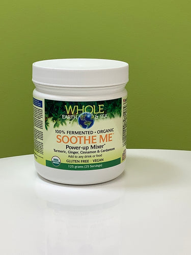 Whole Earth & Sea 100% Fermented Organic Soothe Me Power-Up Mixer