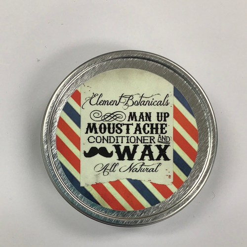 Element Botanicals Man Up Moustache Conditioner and Wax