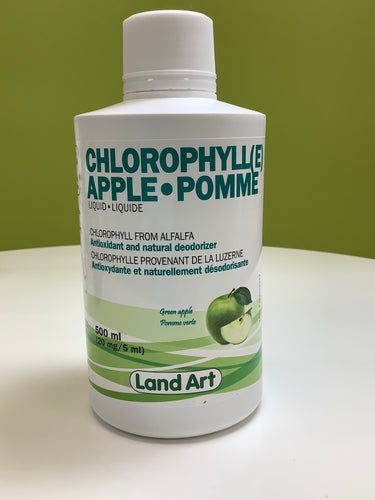 Land Art Chlorophyll Apple