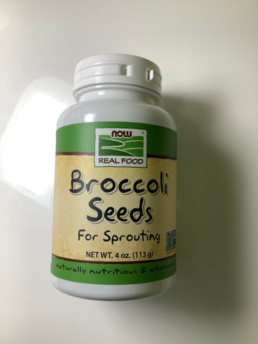 Now Real Food Broccoli Seeds For Sprouting