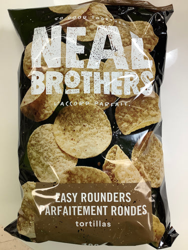 Neal Brothers Organic Easy Rounders Tortilla Chips