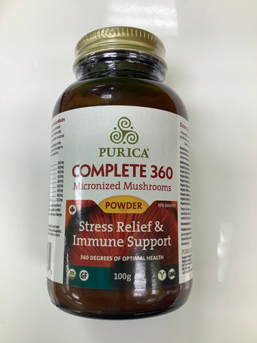 Purica Complete 360 Micronized Mushrooms Powder