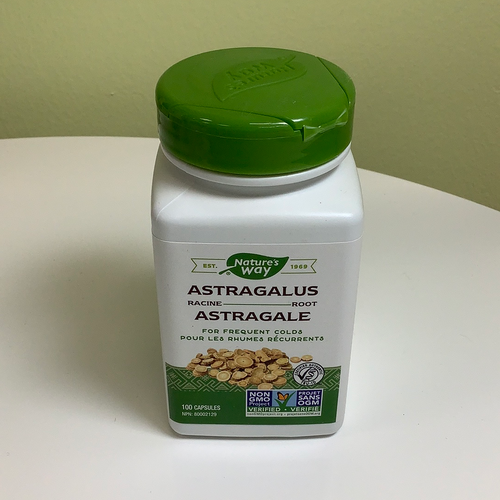 Nature's Way Astragalus Root Capsules