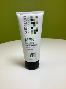 Andalou Naturals Men Refreshing Face Wash