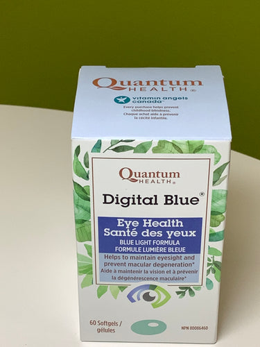 Quantum Health Digital Blue