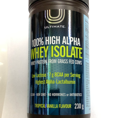 Ultimate High Alpha Whey Protein Tropical Vanilla