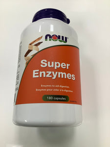 Now Super Enzymes 180's