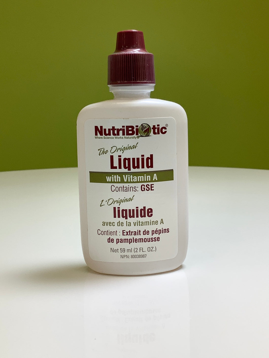 NutriBiotic The Original Liquid with Vitamin A