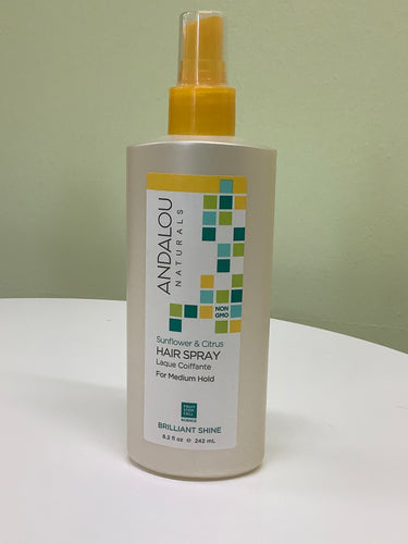 Andalou Naturals Sunflower and Citrus Hair Spray