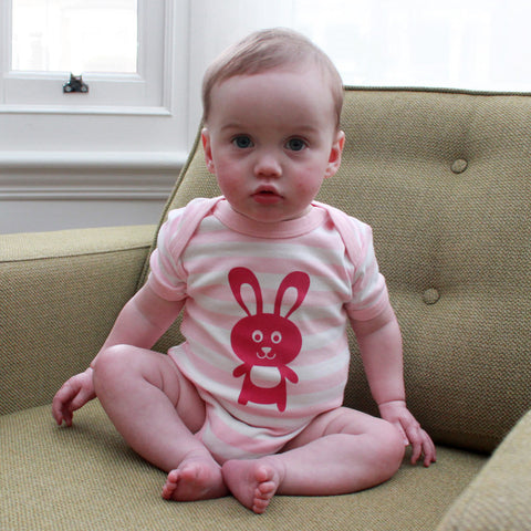 Daisy rabbit baby bodysuit