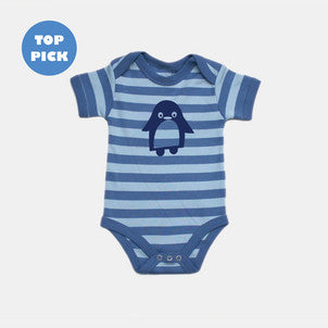 Jasper striped baby bodysuit
