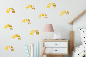 rainbow wallsticker