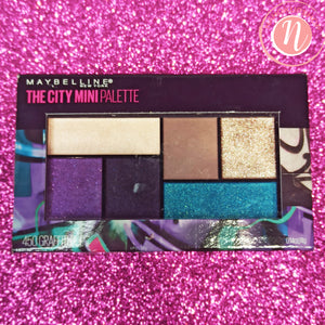 MAYBELLINE - The City Mini Palette - Paleta de Ojos