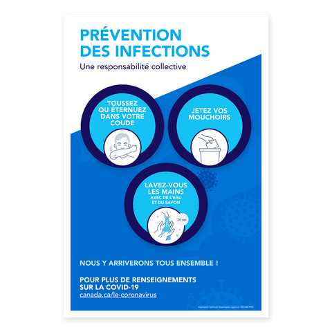 Autocollant «Prévention des infections»
