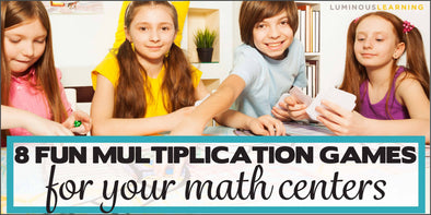 8 fun multiplication games for your math centers