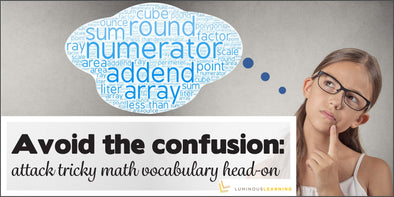 Avoid the confusion: attack tricky math vocabulary head-on