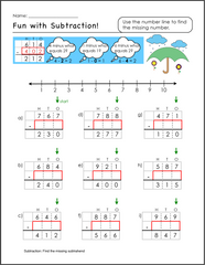 Free math worksheets with graph paper for students with learning disabilities