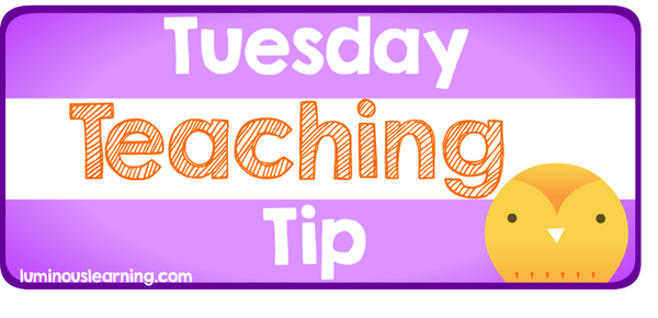 Luminous Learning Tuesday Teaching Tip: Math Problem Solving Handout for Special Education Students