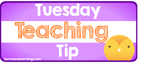 Luminous Learning Tuesday Teaching Tip using number lines and 10-frames to teach addition strategies for students with learning disabilities