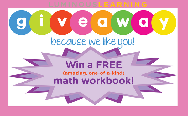 Win a free math workbooks for students with learning disabilities giveaway