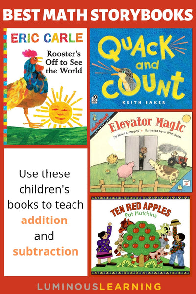 children's books to teach addition and subtraction