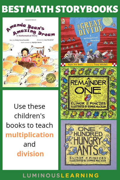 children's books that teach multiplication and division