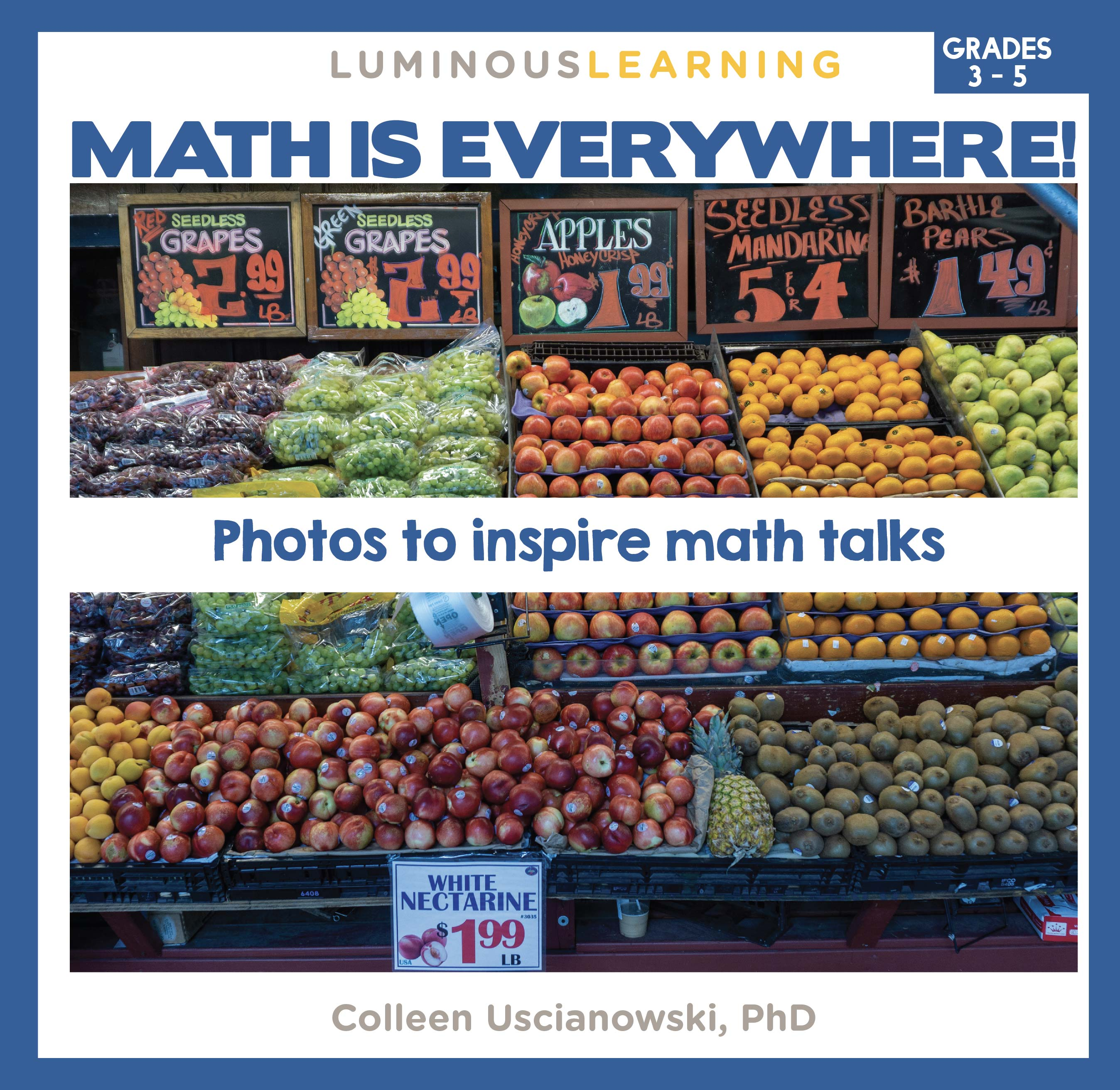 """Math is Everywhere"" Picture Book for Grades 3 - 5"