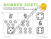 Grades K - 1 Number Sorting: Printable Activity Book