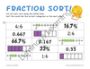 Grades 4 - 5 Decimal, Fraction, and Percent Sorting: Printable Activity Book