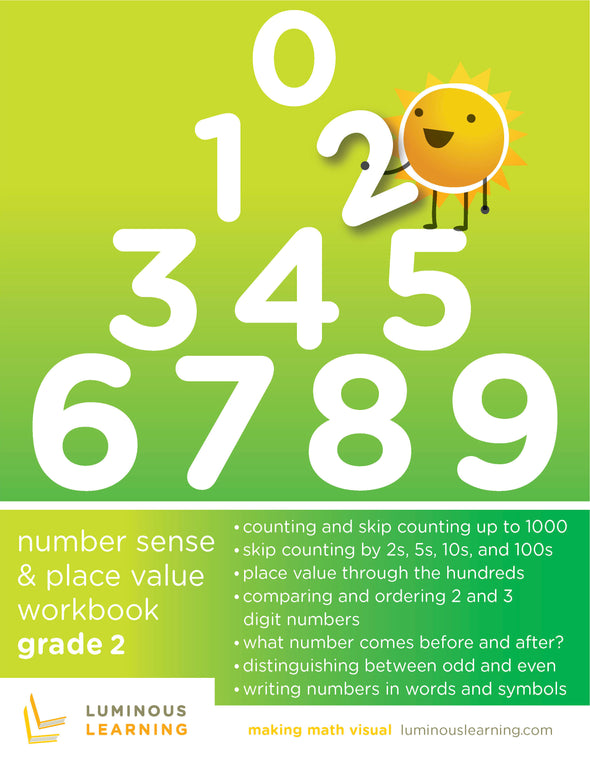 Grade 2 Number Sense and Place Value Workbook