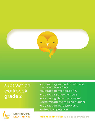 Grade 2 Subtraction Workbook