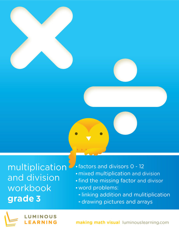 Grade 3 Multiplication and Division Workbook