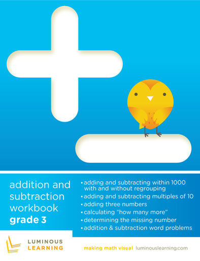 Grade 3 Addition and Subtraction Workbook