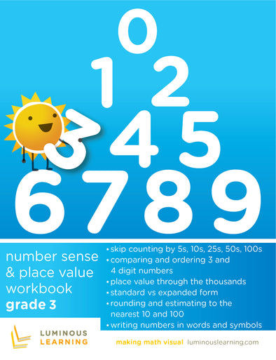 Grade 3 Number Sense and Place Value Workbook