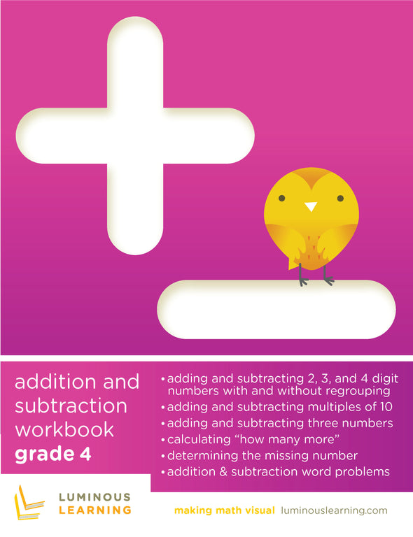 Grade 4 Addition and Subtraction Workbook